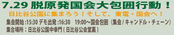 7.29国会包囲行動